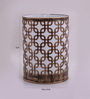 Height of Designs Gold Iron Square In Square Night Light
