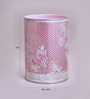 Height of Designs Pink & White Iron Butterfly Night Light