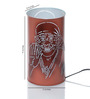 Height of Designs lord sai baba White Acrylic Table Lamp