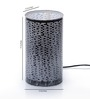 Height of Designs bricks White Acrylic Table Lamp