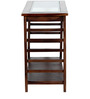 Toston Console Table in Provincial Teak finish By Woodsworth