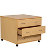 Storage Unit in Maple Finish by HeveaPac