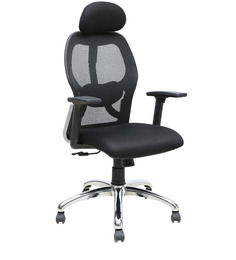 Executive High Back Chair in Black Colour by Star India