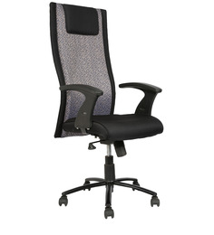 High Back Executive Chair in Black Colour by Star India