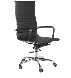 High Back Executive Chair in Black Colour by Home City
