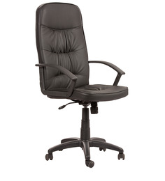 High Back Executive Chair in Black Colour by Parin