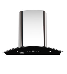 Hindware Nevio Stainless Steel 23.62 Inch Auto Clean Hood Chimney 60 cm