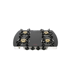 Hindware Primo Gl-4B-AI 4 Burner Auto Ignition Cooktop