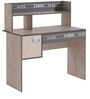 McBlake Study Desk in Grey Finish by Mollycoddle