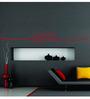 Highbeam Studio Self Adhesive Vinyl Bismillah Knot Islamic Red Wall Decal