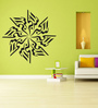Highbeam Studio Black Self Adhesive Poly Vinyl Film Allah-O-Akbar Islamic Wall Decal