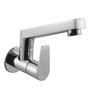 Hindware Silver Brass Wall Mounted Sink Tap with Swivel Spout