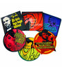 Hit Play Holly Bolly Coasters