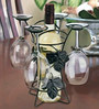Hit Play Wine Bottle and Glass Holder