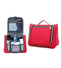Hitplay Canvas Red Travel Toiletry Bag with Handle