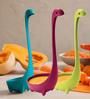 Hitplay Multicolour Nylon Long Handle Spoon - Set of 3