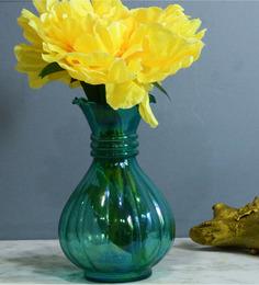 Homesake Blue Glass Flower Vase