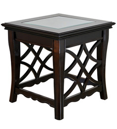nina solidwood side table by hometown buy zina solidwood side table