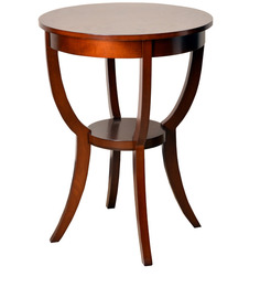 radial solid wood side table by hometown buy zina solidwood side table