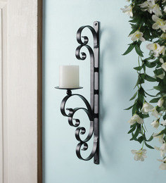 Hosley Set Of 2 Decorative Wall Sconce/Candle Holder With Free Candles - 1396828