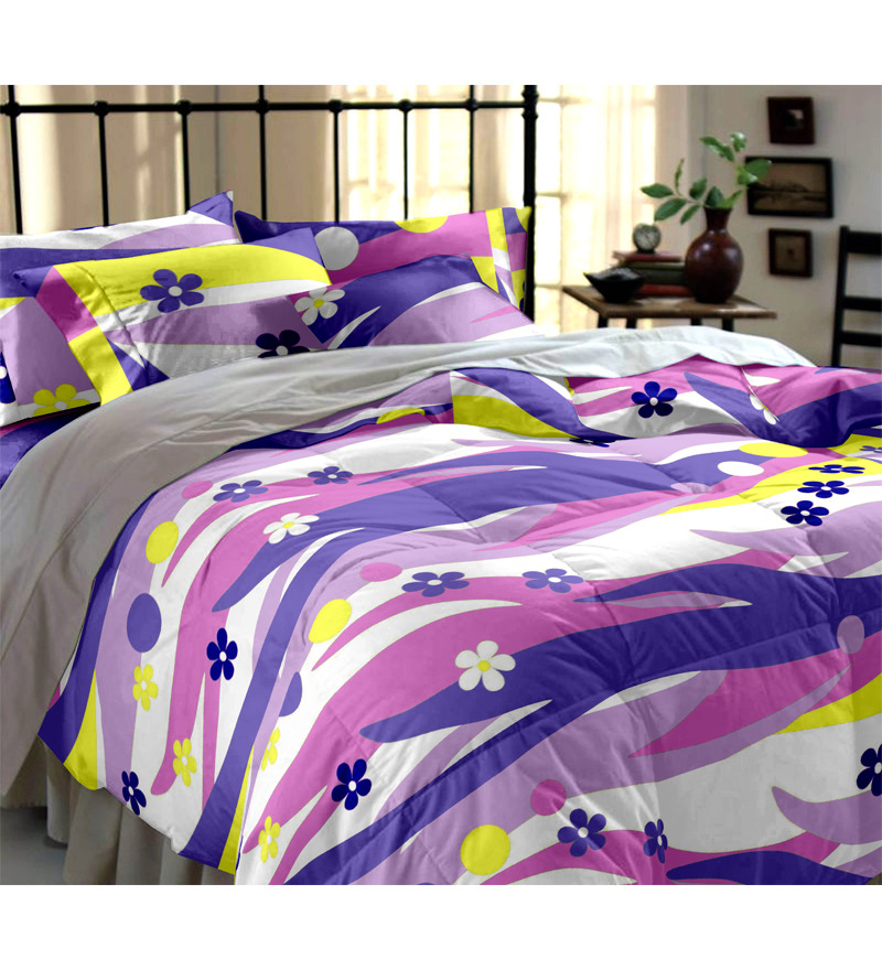 Flat 21% Off on Double Bedsheet Set from Home Ecstasy - Rs 550