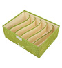 Home Creation Multi Utility Green Polyester Organisers