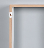 Alona Contemporary Wall Shelf in White by CasaCraft