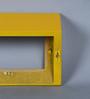Santa Fe Contemporary Wall Shelf in Yellow by CasaCraft