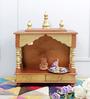 Homecrafts Gold MDF & Mango Wood Medium Home Temple