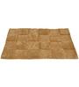 Homefurry Beige Glossy Tiles 20 X 32 Inch Cotton Bath Mat