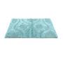 Homefurry Blues Cotton 20 X 32 Inch Bath Mat