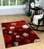 Homefurry Multicolour Polyester 71 x 47 Inch Mix Bubbles Area Rug