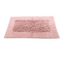 Homefurry Pinks Cotton 20 X 32 Inch Bath Mat