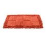Homefurry Reds Cotton 20 X 32 Inch Bath Mat