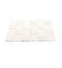 Homefurry White Glossy Tiles 20 X 32 Inch Cotton Bath Mat