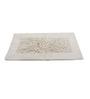 Homefurry White Cotton 20 X 32 Inch Bath Mat