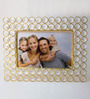 Homesake Golden Metal 4 x 6 Inch Single Photo Frame