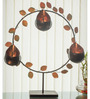 Homesake Copper Iron Round Luster Drops Stand