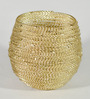 Homesake Gold Metal Wire-N-Fire Votive - Set of 2