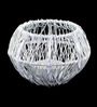 Homesake White Metal Wire Tangle Large Votive