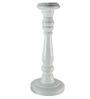 Homesake White Mango Wood Candle Stand - Set of 3