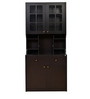 Baru Calino Storage Kitchen Cabinet in Wenge Finish by HomeTown