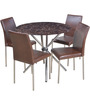 HomeTown Corral Four Seater Dining Set