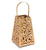 HomeTown Gold Iron Allure Candle Holder