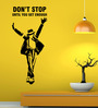 Hoopoe Decor Vinyl Don't Stop Until You Get Enough Michael Jackson Wall Decal