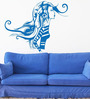 Hoopoe Decor Vinyl Girl in Fashion Wall Sticker