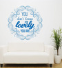 Hoopoe Decor Vinyl How Lovely You Are Wall Decal