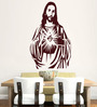 Hoopoe Decor Vinyl Caring Jesus Wall Decal