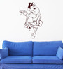 Hoopoe Decor Vinyl Charming Ganesha Wall Decal