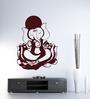 Hoopoe Decor Vinyl Blessing Ganesha Wall Decal